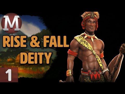 Civ 6: Rise and Fall - Let's Play Deity Shaka / Zulu - Part 1