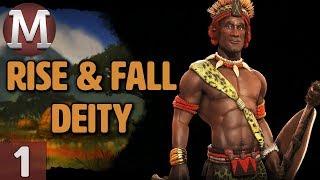 Video Civ 6: Rise and Fall - Let's Play Deity Shaka / Zulu - Part 1 download MP3, 3GP, MP4, WEBM, AVI, FLV Maret 2018