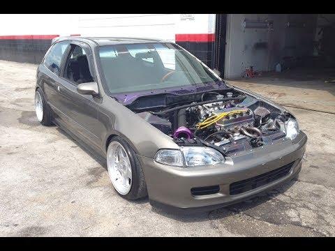 SERROT'S Honda Civic EG Hatch SOHC - YouTube