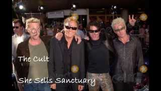 The Cult -  She Sells Sanctuary (Lyrics)