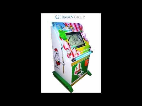 Parmak Boyama Oyun Makinasi German Grup Youtube