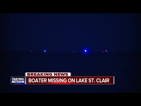 Coast Guard, deputies search for missing boater near Lake St. Clair Metropark