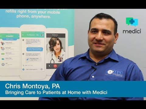 Chris Montoya: Bringing Care Home to Patients - Medici App