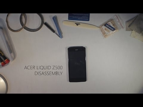 Acer Liquid z500 Disassembly/ How to replace cracked screen