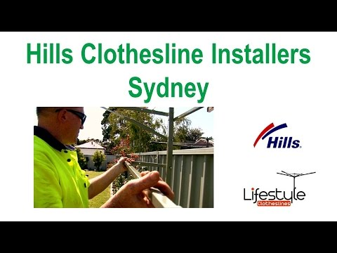 Hills Clothesline Installers Sydney - Supply And Installation Sydney