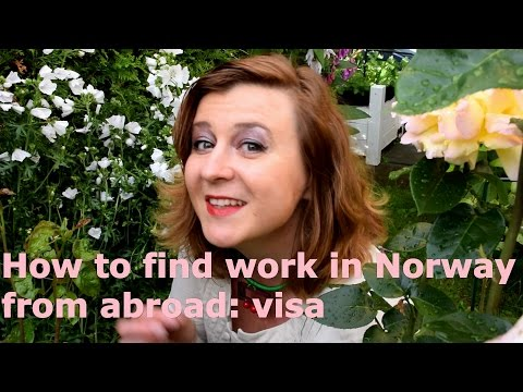 How to find work in Norway from abroad: visa