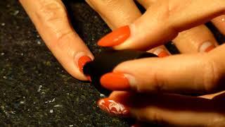 Когда некогда сделать коррекцию гель-лака/Обратный фрэнч/Починка ногтя/ nail repair