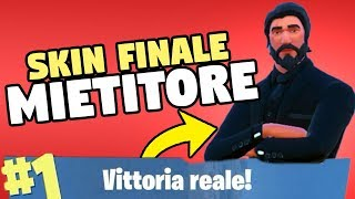 VITTORY REAL con EL MIETITOR en FORTNITE (piel final Nivel 100)