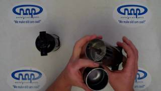 Receiver driers for aftermarket A/C systems by Nostalgic Air