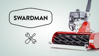 Výměna poškozeného lanka   Swardman servis
