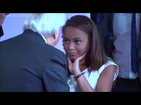 Benny Hinn - Young Girl Received God