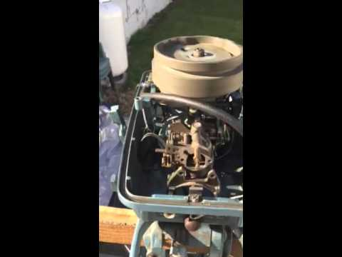 Evinrude Sportwin 10hp Running Issues