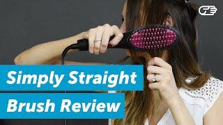 Simply Straight Brush Review   HighYa