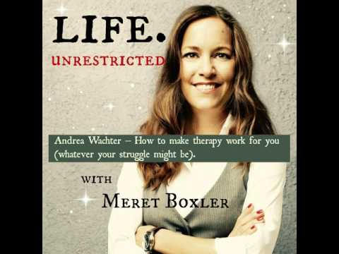 LU 051: Andrea Wachter – How to make therapy work for you (whatever your struggle might be).