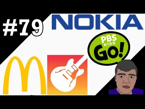 LOGO HISTORY #79 - Nokia, GarageBand, McDonald's & PBS Kids Go