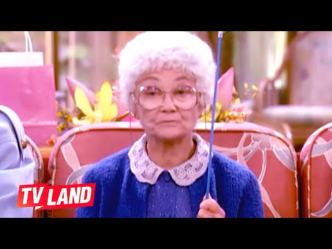 Sophia's Best Insults (Compilation) 🔥 The Golden Girls | TV Land