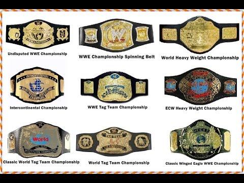 Every WWE World Heavyweight Champion (1963-present) // WWE Championship belt History