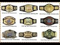 Every WWE World Heavyweight Champion 1963 present WWE Championship belt History