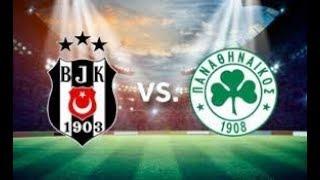 Maç Özeti   Beşiktaş - Panathinaikos 2-2 Hazırlık Maçı