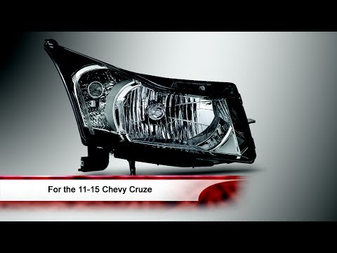 11-15 Chevy Cruze OEM Style Halogen Headlight