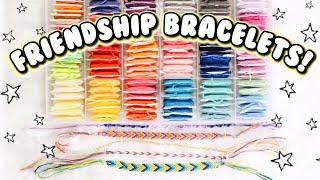 4 EASY DIY FRIENDSHIP BRACELETS! Bracelets for Beginners | DIYholic