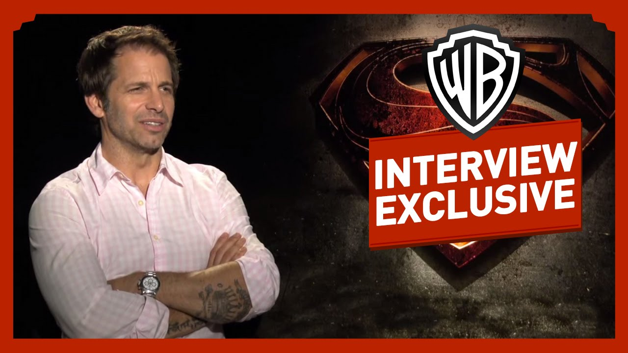 Man Of Steel - Interview - Zack Snyder / Henry Cavill / Kevin Costner