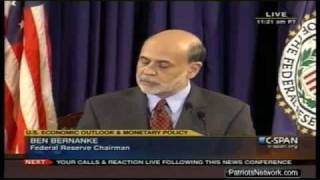 FIRST EVER: Federal Reserve Press Conference Since US Coup d