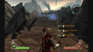 Lord of the Rings Conquest PC Gameplay 9500GS