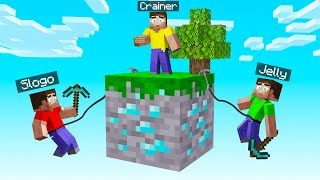 MINECRAFT BUT You Only Get ONE BLOCK To SURVIVE!