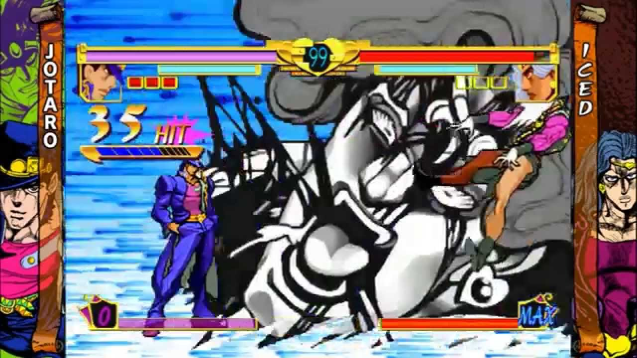 Jotaro and Dio Time Stop Glitch