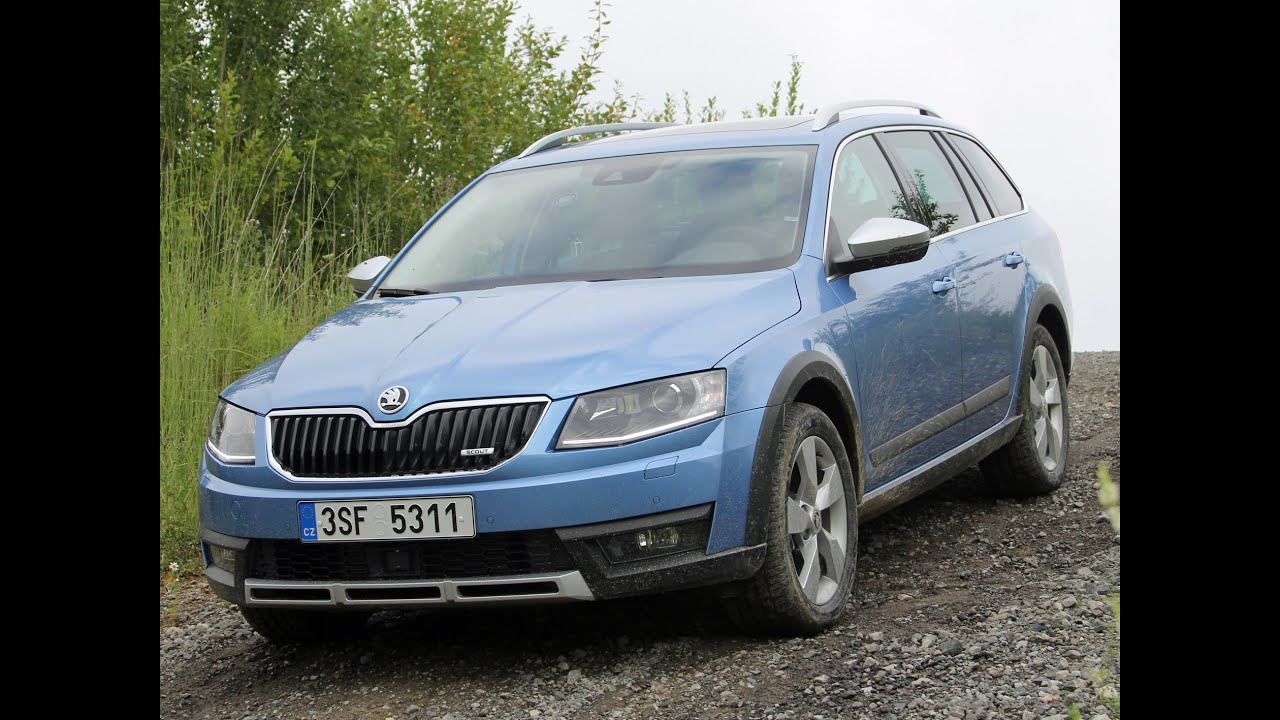 skoda octavia scout combi test review fahrbericht 2014 youtube. Black Bedroom Furniture Sets. Home Design Ideas