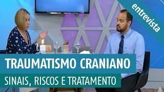 Traumatismo craniano (TCE):  seus sinais,  os riscos e o tratamento.