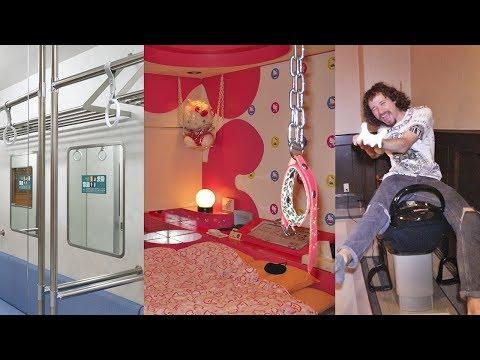 Así son los MOTELES en Japón 🏩 Love Hotels