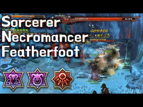 [TOS Re] Sorcerer-Necromancer-Featherfoot (Wicked Desire, Isgarinti)