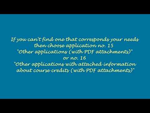 How To Submit An Application - Warsaw International Studies In Psychology WISP