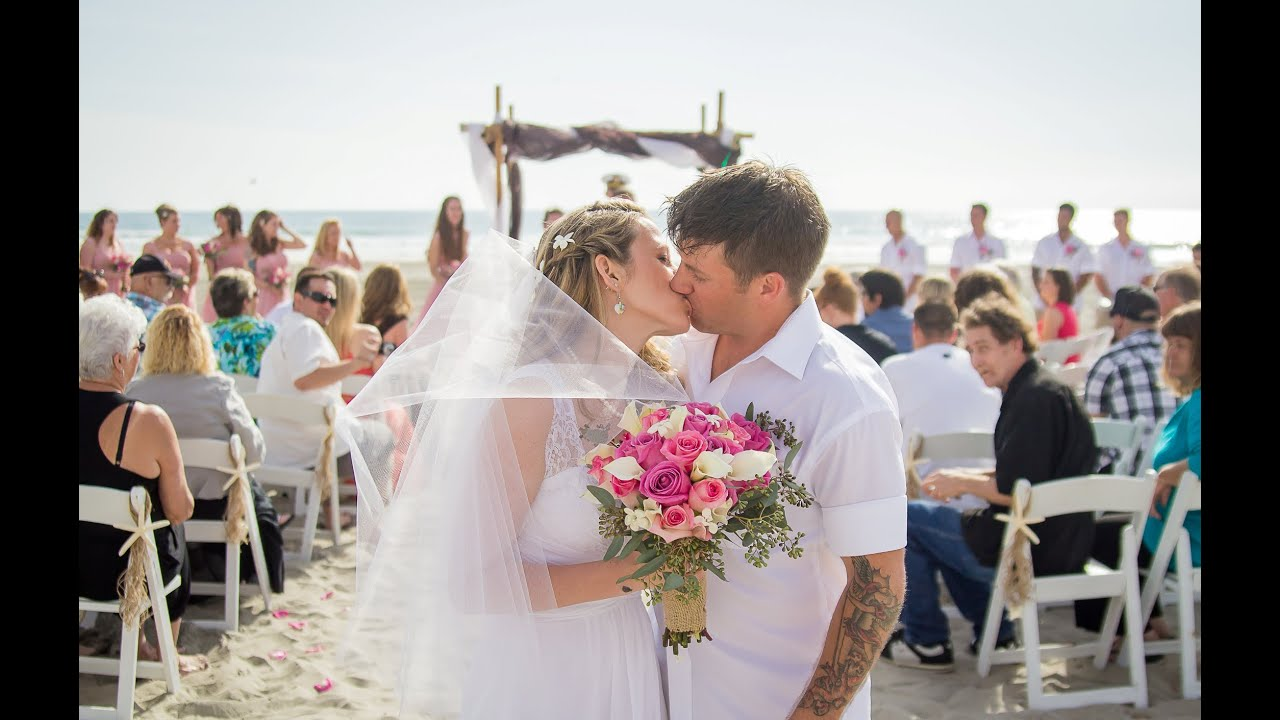 Ashley Brian S Wedding At Del Mar Beach Resort Camp Pendleton