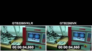 GTB2260VKLR (ball bearing) vs GTB2260VK (journal bearing)