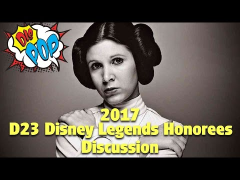 2017 D23 Disney Legends Honorees | DIS POP | 04/14/17