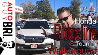 2017 Honda Ridgeline Touring | Auto Guy Bri