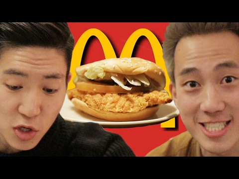 Thumbnail: Americans Try Korean McDonald's