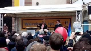 2015 03 14 Erwin Pelzig 1 Nazis verpiss dich in Gebärdensprache Würzburg ist bunt xvid