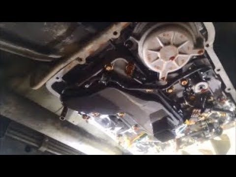 Nissan Patrol RE4R03A 4 Speed Auto Transmission Filter & Fluid Change How To DIY