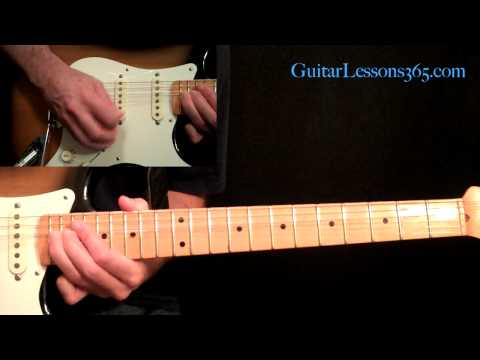 Metallica - Enter Sandman Guitar Lesson Pt.3 - Solo