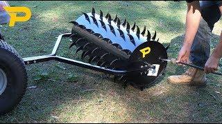 Paddock Tow Behind Spike Aerator