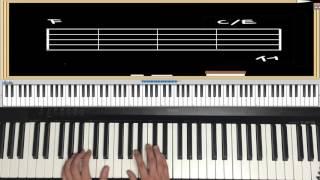 피아노강좌 8강  코드악보 연주하는 방법 (플라워 - Endless)