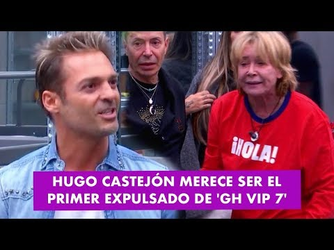 GH VIP 7 | PELEA HUGO CASTEJÓN VS MILA XIMÉNEZ: Hugo merece ser el primer expulsado