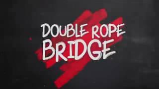 Menegangkan! Para atlet bermain games Double Rope Bridge!