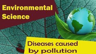 Diseases Caused By Pollution | Dietary Disease | Respiratory Diseases | Part 1-Environmental Science