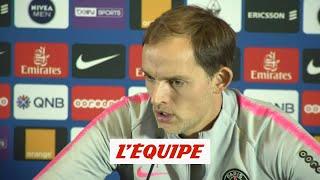 Tuchel «Je n?ai pas mon équipe contre Belgrade en tête» - Foot - L1 - PSG