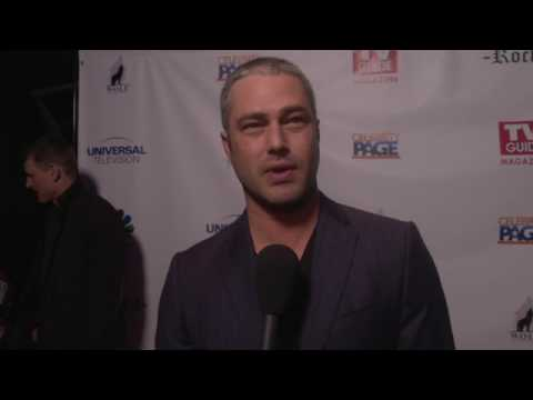 TAYLOR KINNEY #ONECHICAGO FIRE TV GUIDE COVER EVENT